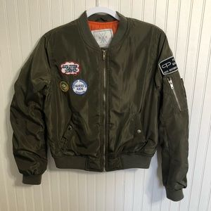 Angel Kiss LA Patched Nurse Bomber Olive